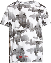 Off-White Architectural camouflage-print cotton T-shirt