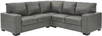 Hampshire Premium Leather Corner Group Sofa
