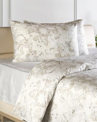 Enchante Home Essential 3Pc Turkish Cotton Sateen Duvet Cover Set