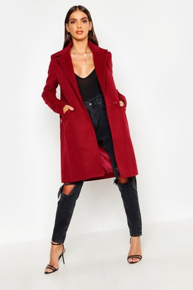 boohoo Zip Pocket Tailored Coat