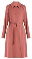 Bottega Veneta Single-breasted wool-gabardine coat