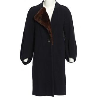 Dries Van Noten Black Wool Coats