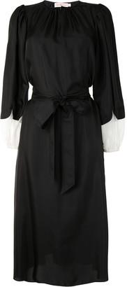Tory Burch Tied-Waist Sheath Dress