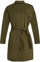 Etoile Isabel Marant Omeo cotton-gabardine tunic dress