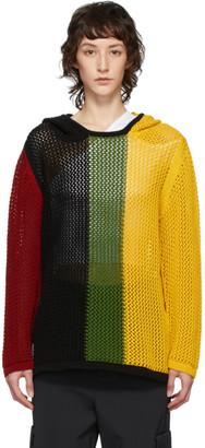 Telfar Multicolor Mesh Hoodie
