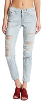 True Religion Distressed Boyfriend Denim Jean