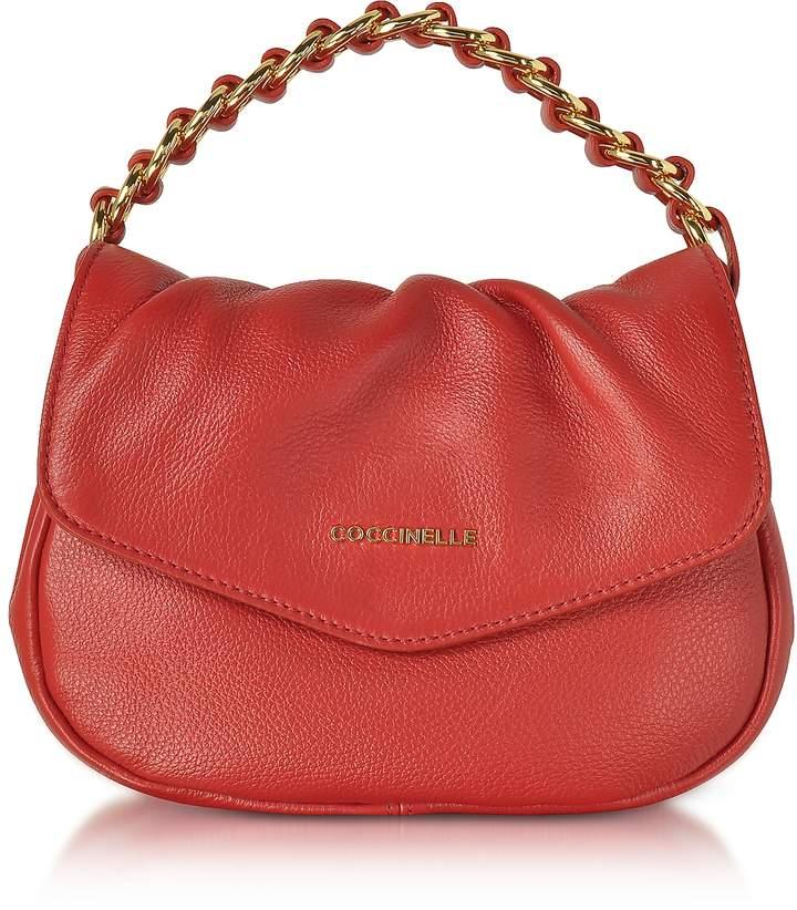 Coccinelle Julie Leather Top Handle Bag