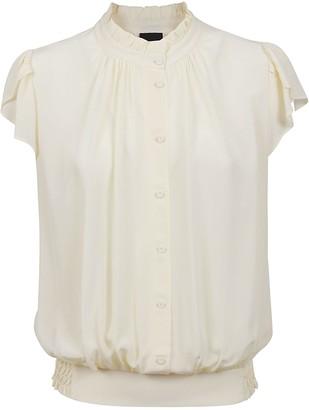 Pinko Cream Viscose Shirt