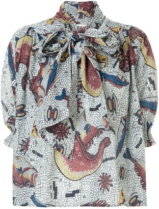 Karen Walker Mouseion shirt