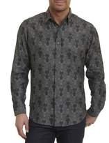 Robert Graham Watkins Floral Plaid Sport Shirt