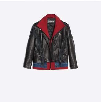 Balenciaga Layered Fringe Jacket
