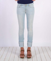 Henry & Belle Powder Blue Lila Straight-Leg Jeans