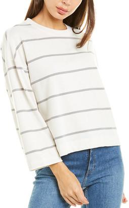 Atm Jersey Stripe Sweatshirt