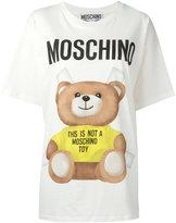 Moschino paper toy bear T-shirt - women - Cotton - XXS