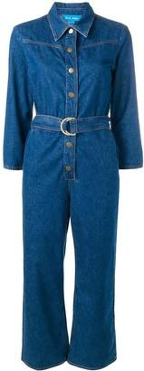 MiH Jeans Harper denim jumpsuit