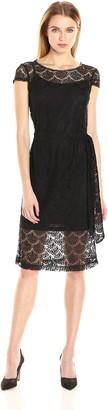Jessica Simpson Women's Scalloped Lace Dress