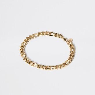 River Island Gold colour chain link bracelet