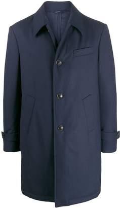 Tombolini checked single breasted coat