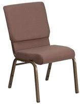 Church's Pyron Chair Latitude Run Seat Finish: Brown, Frame Finish: Gold