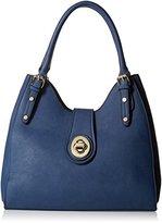 MG Collection Structured Shoulder Bag