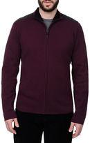 Victorinox Elbow Patch Zip Sweater