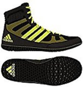 adidas Mat Wizard 3 David Taylor Edition Wrestling Shoes - /Red/White - 7