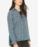 Denim & Supply Ralph Lauren Plaid Long-Sleeve Shirt