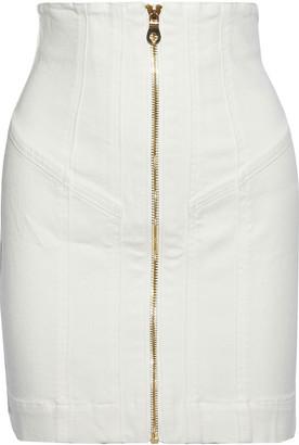 Zimmermann Paneled Denim Mini Skirt