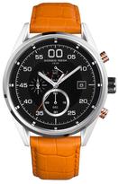 Giorgio Fedon Leather Strap Vintage VII Quartz Watch, 45mm