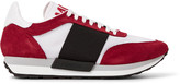Moncler Horace Suede And Mesh Sneakers
