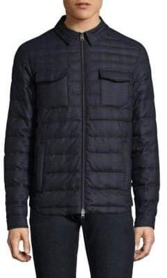 Etro Sportswear Quilted Wool Jacket