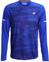 New Balance Long Sleeved Top Marine Blue