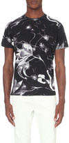 Diesel X-ray floral print t-shirt