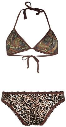 Anjuna Carinam mix-print bikini set