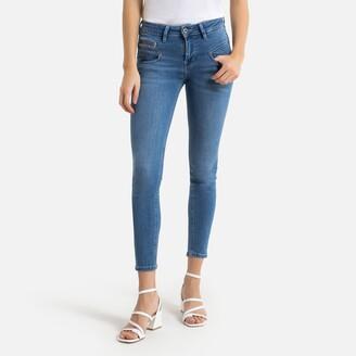 Freeman T. Porter Alexa Slim Cropped Jeans with High Waist