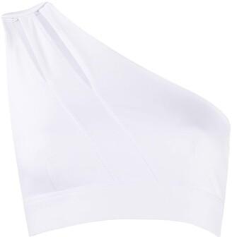 NO KA 'OI Purity one-shoulder sports bra