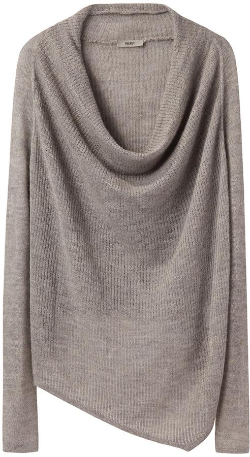 Helmut Lang HELMUT Cowl Neck Sweater