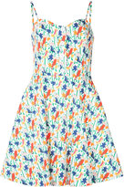 Alice + Olivia Alice+Olivia - Bird Party print dress - women - Cotton/Polyester/Spandex/Elastane - 8