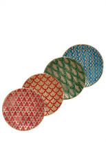 L'OBJET Fortuny Assorted Canape Set Of 4 Plates