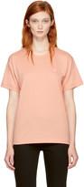 Acne Studios Pink Nash Face T-Shirt