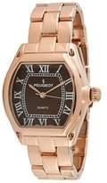 Peugeot Women's 7069RBR Rose Gold Roman Numeral Bracelet Watch