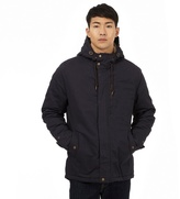 Red Herring Navy Quilted Parka