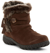 Khombu Copper Faux Fur Trimmed Boot