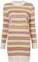 Stella McCartney Fairisle Patterned Knit Dress
