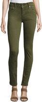 Hudson Collin Skinny Jeans, Olive