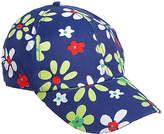 Magid Blue & Lime Floral Baseball Cap
