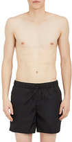 "Acne Studios Men's ""Blank Face"" Emoji Nylon Swim Trunks"