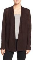 Eileen Fisher Petite Women's Organic Linen Shaped Cardigan