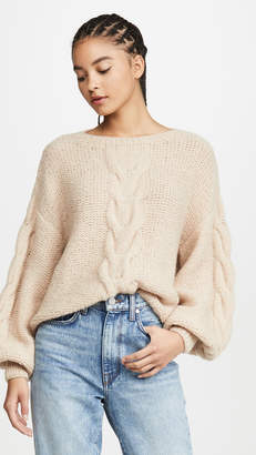 Eleven Paris Six Sophia Alpaca Sweater