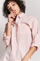 Forever 21 Gingham Button-Front Shirt